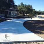 Concrete Driveway - Curved Residential - Bankston Concrete Construction in San Antonio, TX
