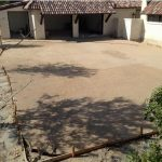 Concrete Pebble Wash Driveway - Bankston Concrete Construction - San Antonio Texas