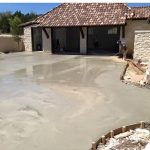 New Concrete Driveway and Entryway - Bankston Concrete Construction - San Antonio Texas