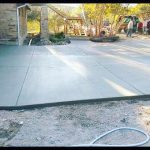 Large Concrete Driveway with Patio and Walkway - Bankston Concrete Construction - San Antonio Texas