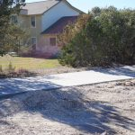 Large Concrete Driveway - Bankston Concrete Construction - San Antonio Texas