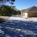 Concrete Driveway - Concrete Construction Company - Bankston Concrete Construction - San Antonio Texas
