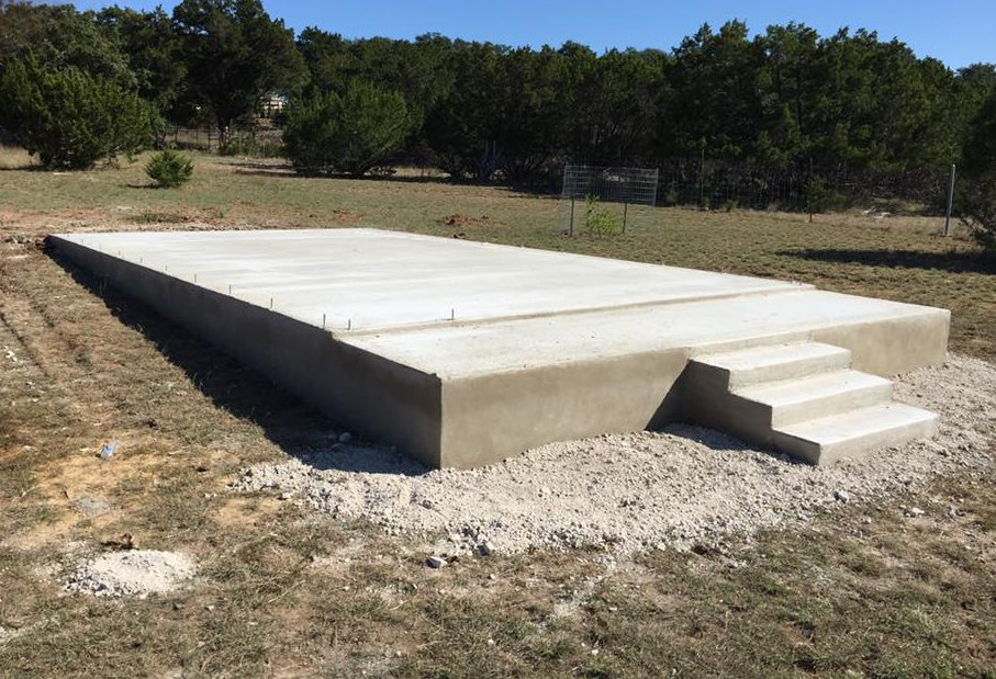 Concrete Foundation Slab - Bankston Concrete Construction - San Antonio Texas
