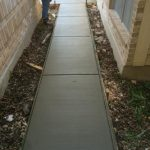Concrete Sidewalk - Bankston Concrete Construction - San Antonio Texas
