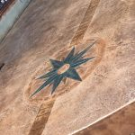 Stamped and Stained Concrete Patio - Bankston