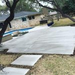 Concrete Pool Deck - Bankston Concrete Construction - San Antonio Texas